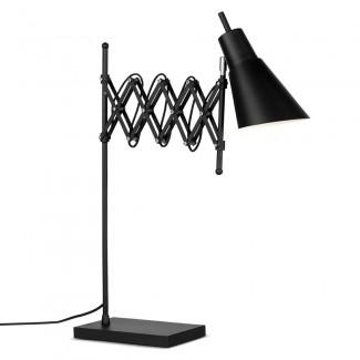 LAMPE DE BUREAU OXFORD NOIR MAT