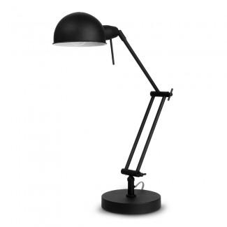 LAMPE A POSER IRON GLASGOW H.68 NOIR MAT