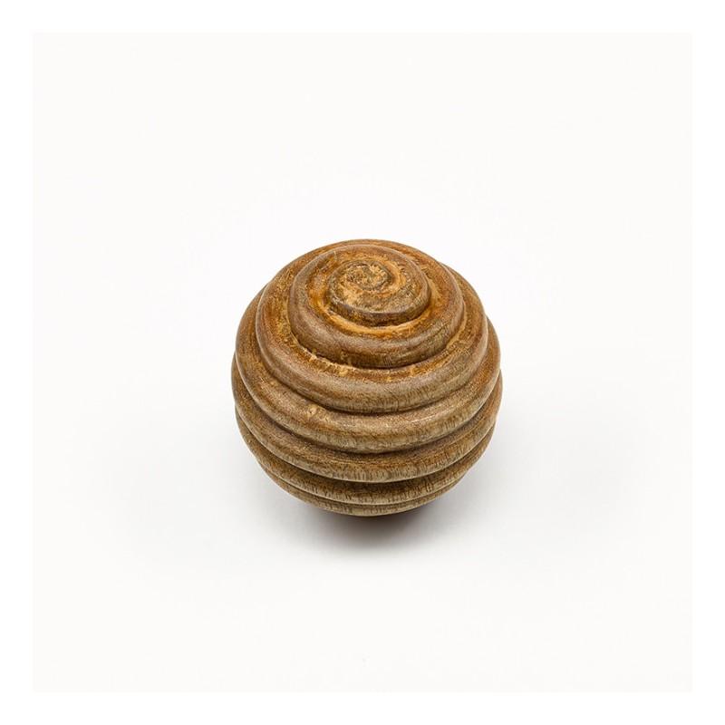 boule deco bois de manguier naturel d9 ambiances et. Black Bedroom Furniture Sets. Home Design Ideas