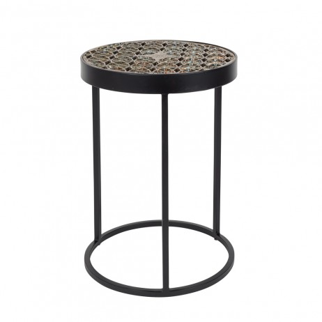 Table Basse Sari Diam 33 H 46cm E Shop Deco Styles Com Par