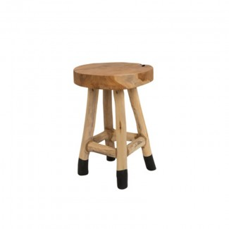 TABOURET HARRY BOIS H:42