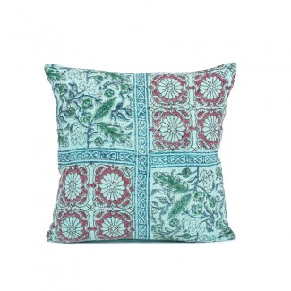 COUSSIN ARTI TURQUOISE 45X45