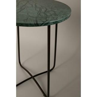 Table d'appoint en marbre - EMERALD 41X55CM Dutch Bone
