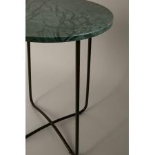Table d'appoint en marbre - EMERALD 41X55CM