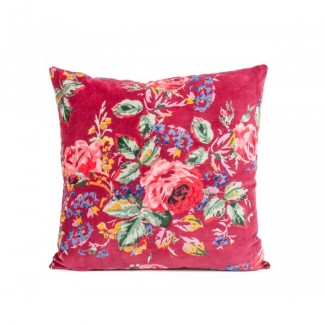 COUSSIN FLOWER RUBIS 45X45