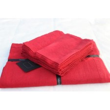 SERVIETTE NAIS 41X41 ROUGE