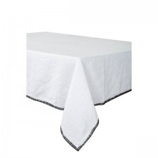 SERVIETTE DE TABLE LETIA BLANC 41X41 CM