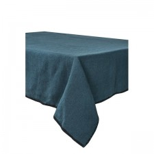 SERVIETTE DE TABLE LETIA BLEU DE PRUSSE 41X41 CM