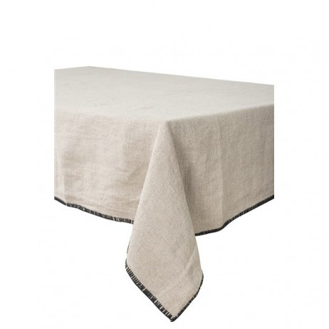 SERVIETTE DE TABLE LETIA NATUREL 41X41 CM