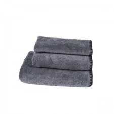 DRAP DE BAIN ISSEY GRANIT 90X140 CM - Harmony Textile