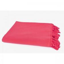 FOUTA PESTAMAL UNI DOUBLE 160X170 FRAMBOISE - Harmony Textile