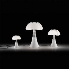 PIPISTRELLO MOYENNE LED MARRON FONCE H.53 - Martinelli Luce