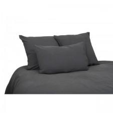 DRAP 100% LIN VITI 270X290 GRANIT - Harmony Textile