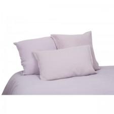 DRAP 100% LIN VITI 270X290 ROSE FANEE - Harmony Textile