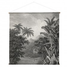 DECORATION MURALE XXL JUNGLE 154x154x2cm