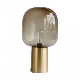 LAMPE NOTE GREY LAITON D.28CM H.52CM E27 HOUSE DOCTOR