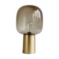 LAMPE NOTE GREY LAITON D.28CM H.52CM E27