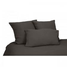 DRAP VITI 100% LIN 270X290 CHARBON - Harmony Textile