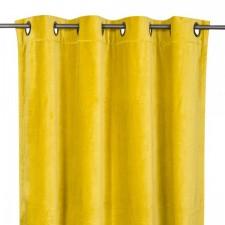 RIDEAUX VELOURS DELHI 135X300 ABSINTHE - Harmony Textile