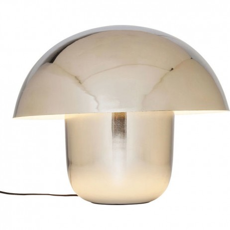 LAMPE DE TABLE MUSHROOM CHROME - Kare