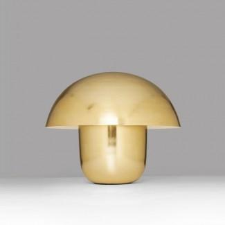 LAMPE DE TABLE MUSHROOM LAITON Kare