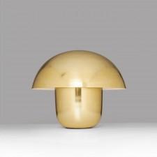 LAMPE DE TABLE MUSHROOM LAITON