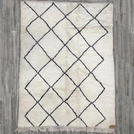 tapis beniouarain losange 170x233 b2668 - Tapis Beni Ouarain