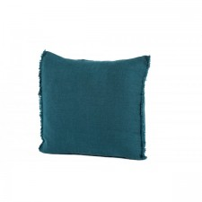 COUSSIN 100% LIN VITI 45X45 BLEU DE PRUSSE