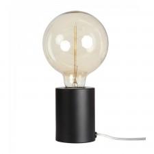 LAMPE TACTILE NOIRE MATE D.7.5 H