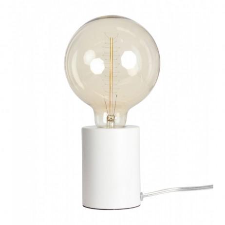 Lampe Tactile Blanche Mate D 7 5 H 9 5 E Shop Deco Styles Com Par