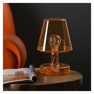 LAMPE TRANSLOETJE BROWN