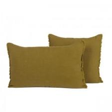 COUSSIN EN LIN 40X60 VITI BRONZE - Harmony Textile
