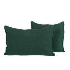 COUSSIN EN LIN 40X60 VITI MELEZE - Harmony Textile