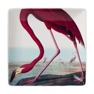 VIDE POCHE BIRDS LARGE TRINKET FLAMINGO 20x20CM