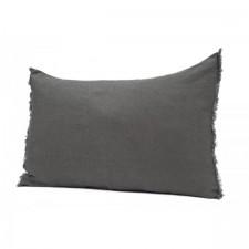 COUSSIN 100% LIN VITI 40X60 GRANIT - Harmony Textile