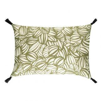 Coussin lin MAHE 40X60 KAKI Harmony Textile