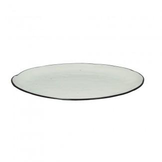 ASSIETTE PLATE BASIL PORCELAINE D26 Pomax