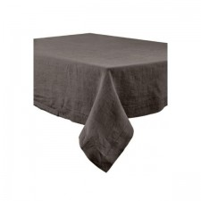 SERVIETTE DE TABLE NAIS 41X41 100% LIN CHARBON