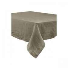 SERVIETTE DE TABLE NAIS 41X41 100% LIN KAKI