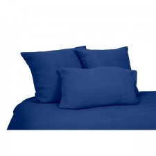 DRAP VITI 100% LIN 270X290 INDIGO - Harmony Textile