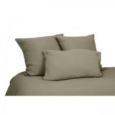 DRAP VITI 100% LIN 270X290 KAKI - Harmony Textile