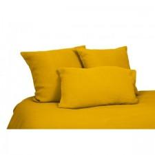 DRAP VITI 100% LIN 270X290 SAFRAN - Harmony Textile