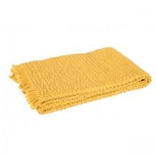 COUVRE LIT TEMPO II 180X240 SAFRAN - Harmony Textile
