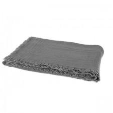 PLAID VANLY 130X190 CELADON GRANIT - Harmony Textile