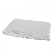 PLAID VANLY 130X190 CELADON NATUREL - Harmony Textile