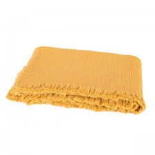 PLAID VANLY 130X190 CELADON SAFRAN - Harmony Textile