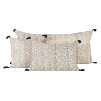 Coussin lin WAKI 55X110 Harmony Textile
