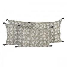 Coussin lin WAKI 40X60 - Harmony Textile