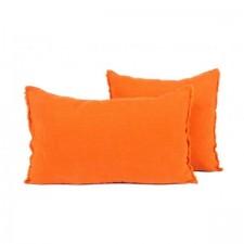 COUSSIN EN LIN 40X60 VITI PAPRIKA - Harmony Textile