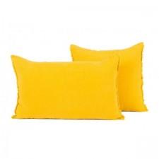 COUSSIN EN LIN 40X60 VITI SAFRAN - Harmony Textile